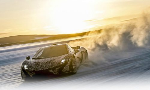 McLaren announces Arctic snow and ice driving experience