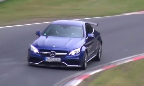 Mercedes-AMG C 63 'R' / Black Series spotted at Nurburgring (video)