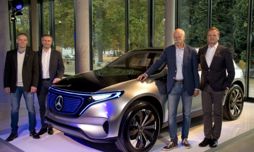 Mercedes-Benz EQ electric models to be built in Germany, 10 EVs to come by 2025
