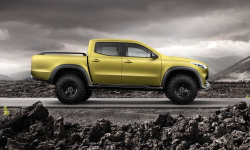 Mercedes-Benz pickup concept revealed, will become X-Class