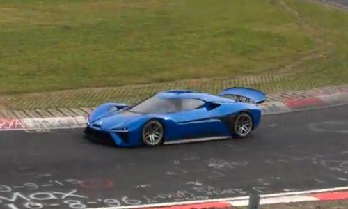 NextEV spotted at Nurburgring, new Chinese EV supercar (video)