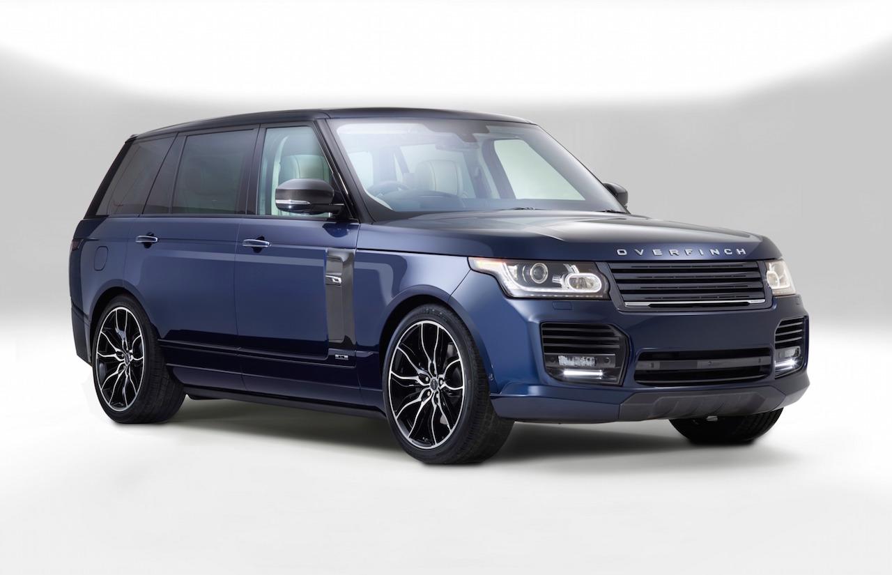 Overfinch unveils Manhattan & London bespoke Range Rovers