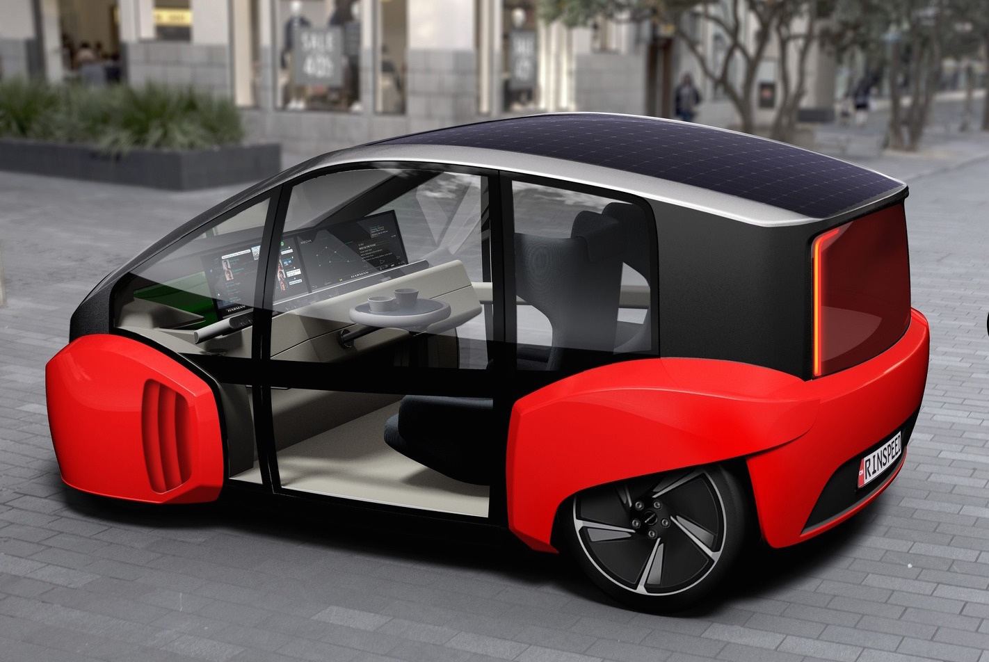 Rinspeed Oasis concept previews city car of the future | PerformanceDrive