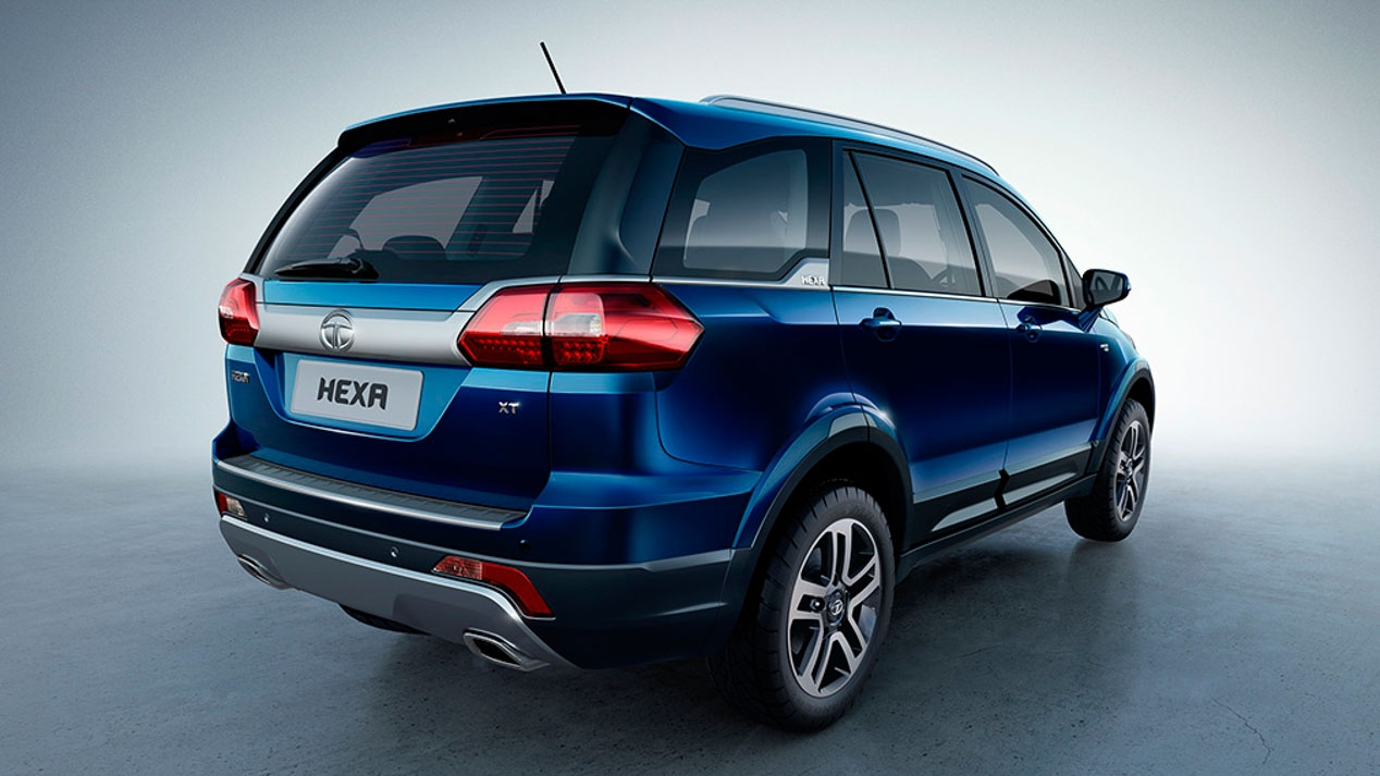2017 Tata Hexa Announced For India New 6 Seat Suv