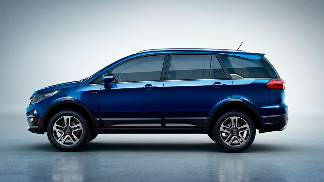 Discovery Sport 2019 >> 2017 Tata Hexa announced for India, new 6-seat SUV | PerformanceDrive