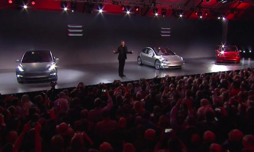 Recent Tesla Model 3 orders to be delivered from mid-2018