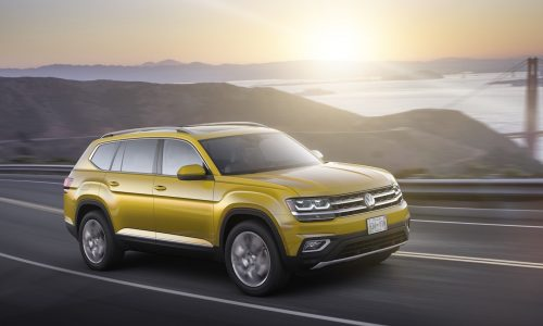 Volkswagen Atlas officially revealed, for US market only