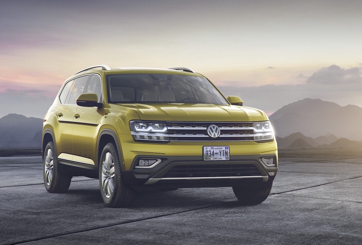 Volkswagen Atlas Officially Revealed For Us Market Only Performancedrive