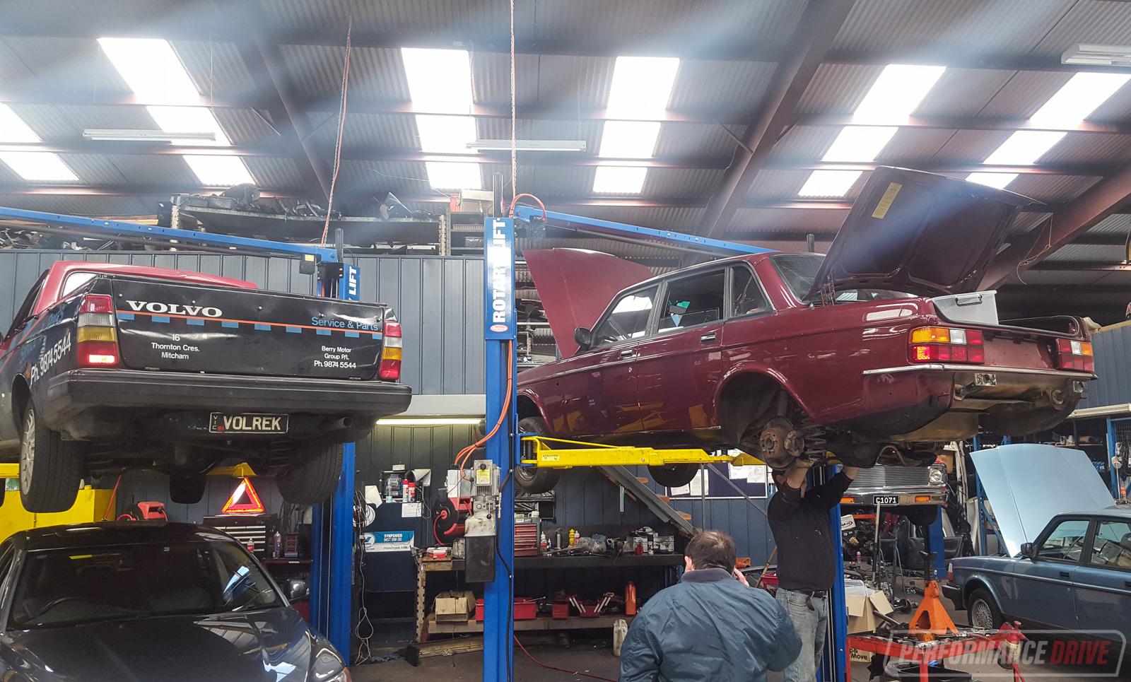 Volvo 240 GL LS1 V8 conversion project: Part 10 - reassemble