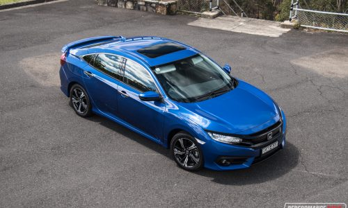 2016 Honda Civic RS turbo review (video)
