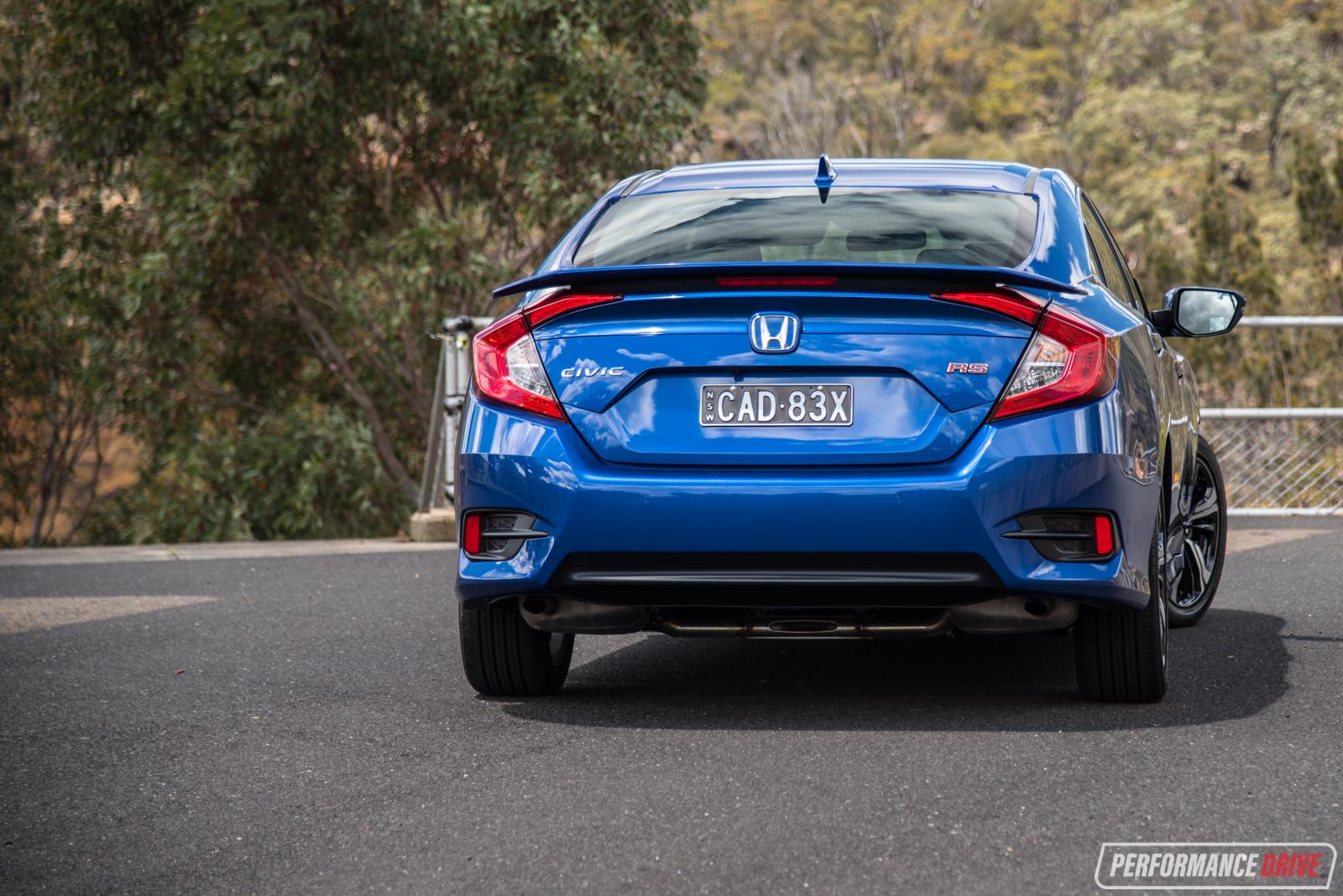 2016 Honda Civic RS turbo review (video) | PerformanceDrive