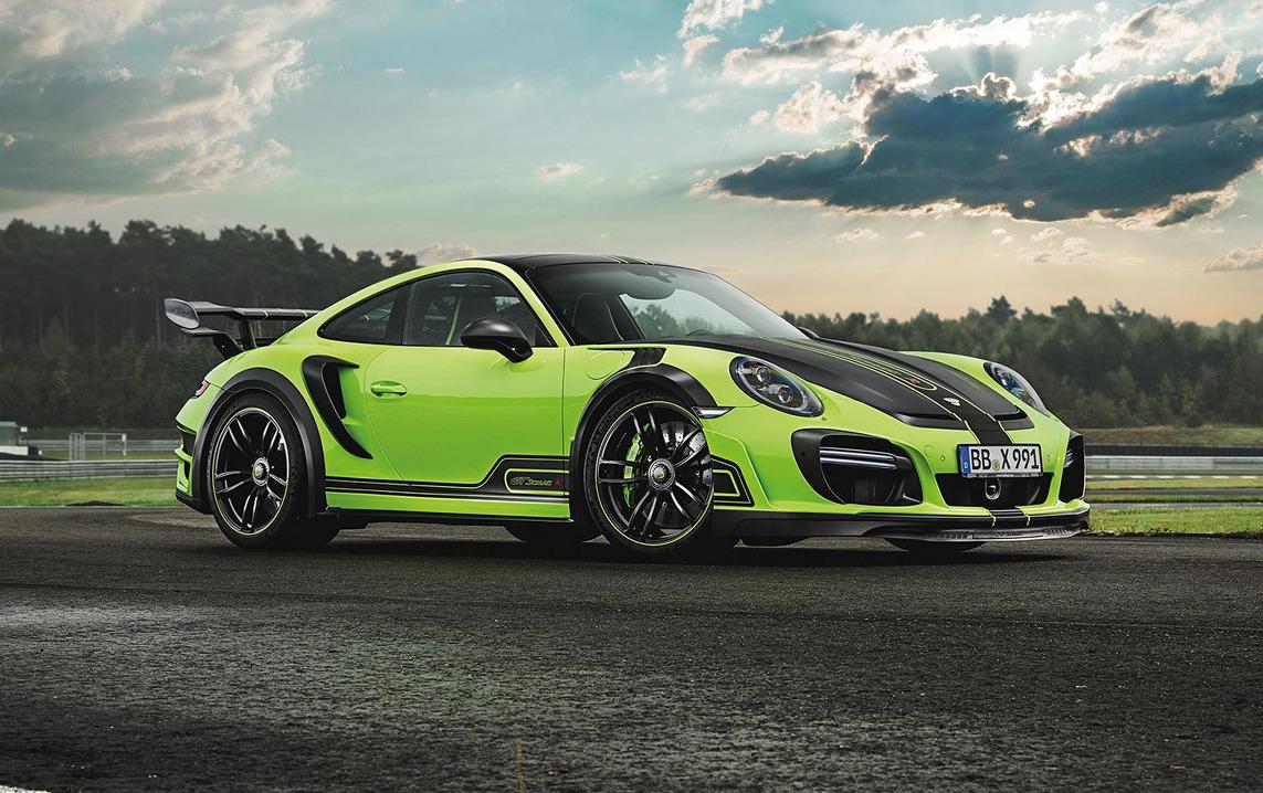 Techart Reveals Intense New Gtstreet R Porsche 911 Turbo