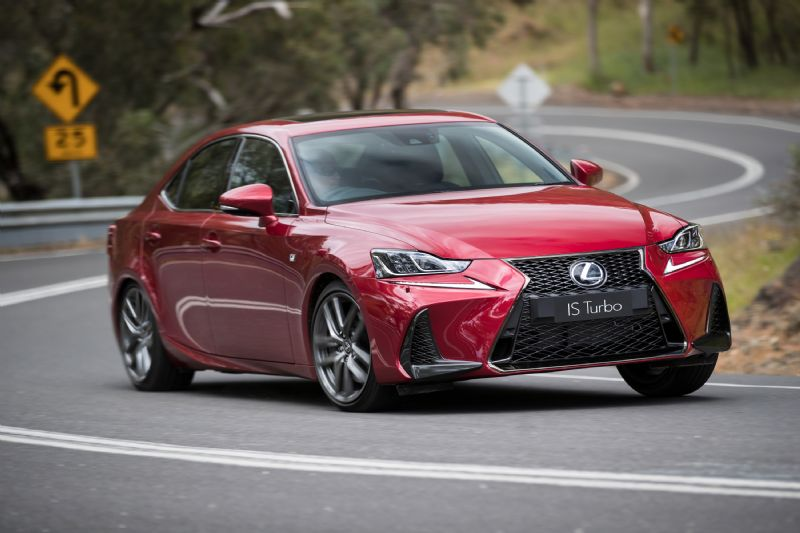 2017 Lexus Is 200t 350 300h Now On Sale Revised Design