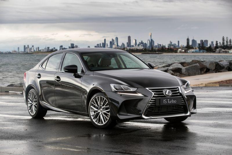 2017 Lexus IS 200t, 350, 300h now on sale; revised design ...