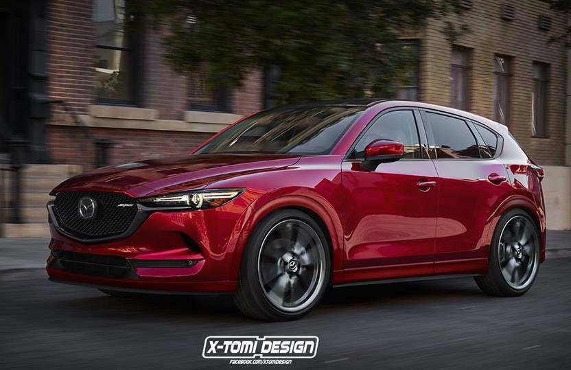 2017 Mazda Cx 5 Mps Turbo Rendered Good Idea Performancedrive