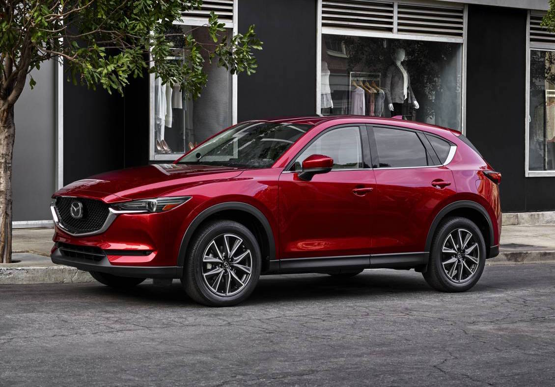 Next Gen 2017 Mazda Cx 5 Unveiled At La Auto Show