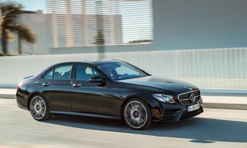2017 Mercedes-AMG E 43 & 350e hybrid now on sale in Australia