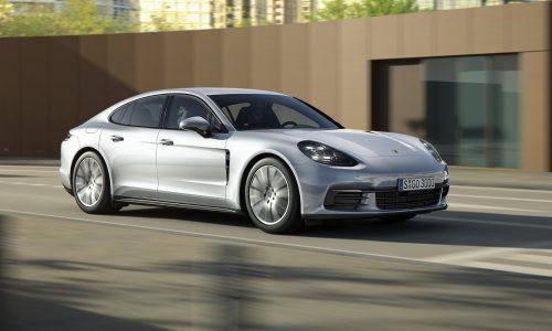 2017 Porsche Panamera base model revealed, gets new V6 twin-turbo