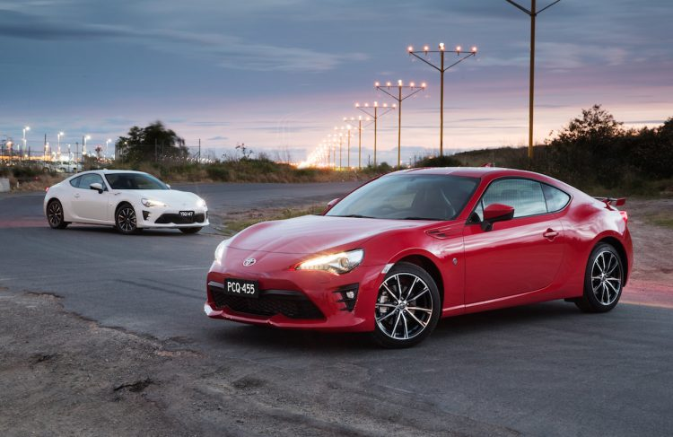 2017 Toyota 86 GTS and GT