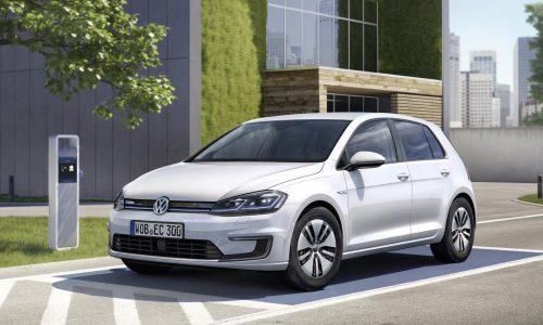 2017 Volkswagen e-Golf debuts at LA show