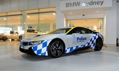 BMW i8 police car added to NSW promo fleet