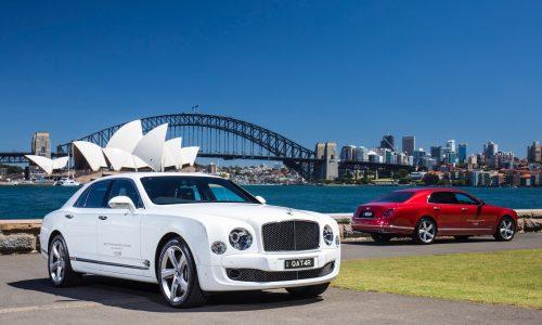 Bentley Mulsanne transport offered to Qatar A380 passengers in Sydney
