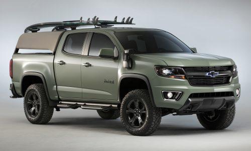 Chevrolet Colorado Hurley & Trax Active concepts debut at SEMA