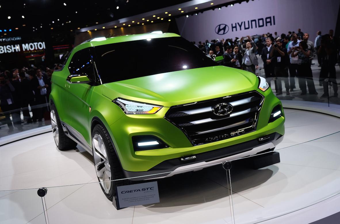Hyundai reveals Creta STC ute for Sao Paulo motor show ...