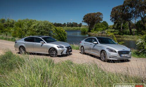 2016 Hyundai Genesis vs Lexus GS 350: V6 luxury car comparison