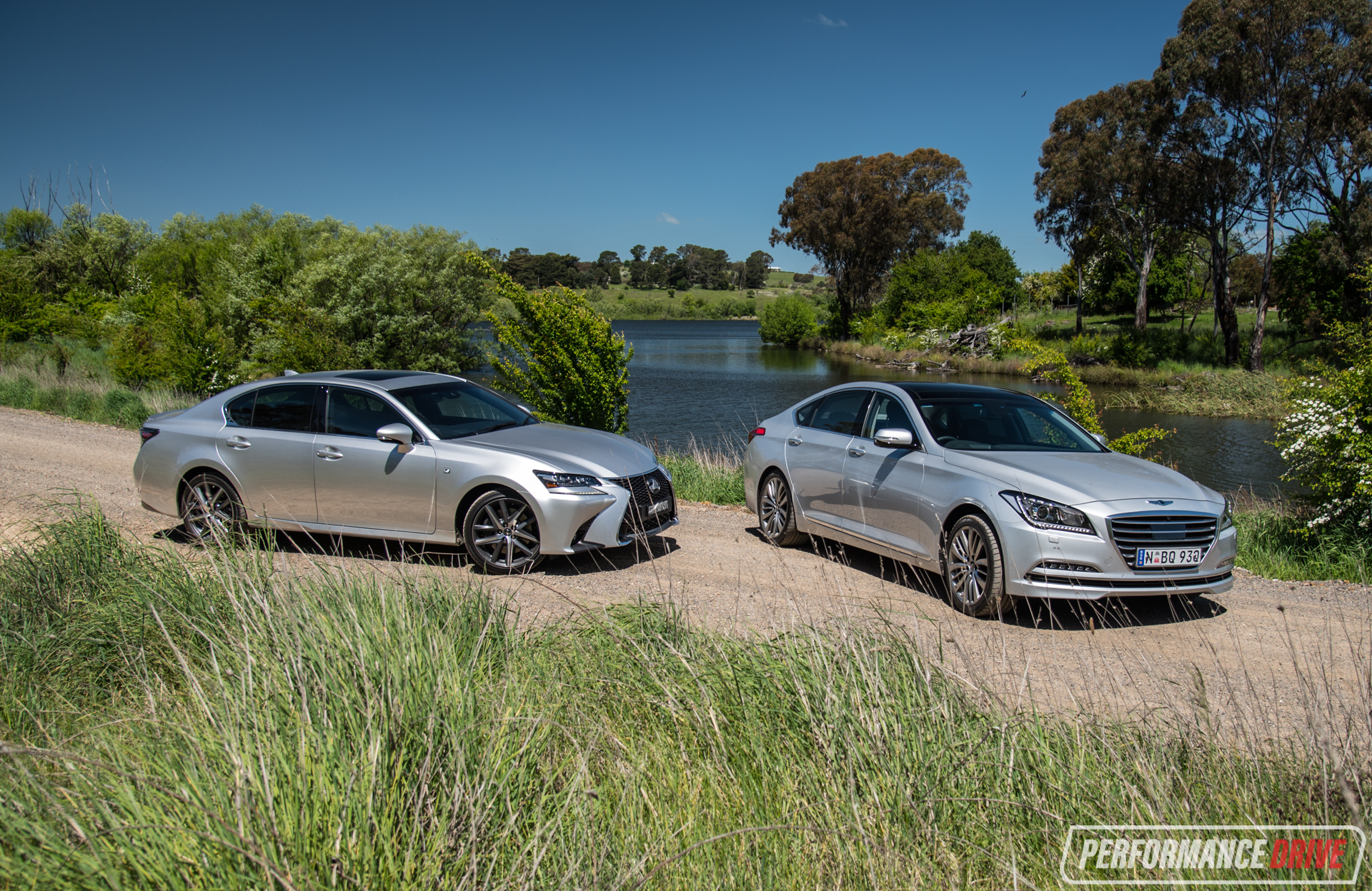 Hyundai Genesis Vs Lexus Gs 350 Orange
