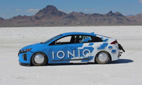 Hyundai IONIQ sets hybrid land speed record at Bonneville