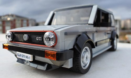 Lego Volkswagen Golf GTI Mk1 is the ultimate retro toy?