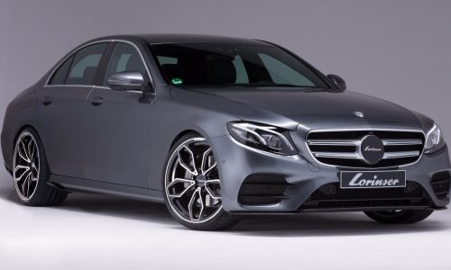 Lorinser gives new Mercedes-Benz E-Class subtle tune