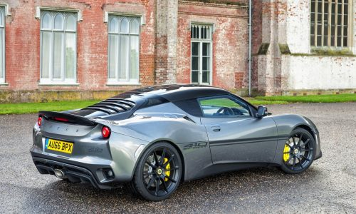 Lotus Evora Sport 410 announced; more power, less weight
