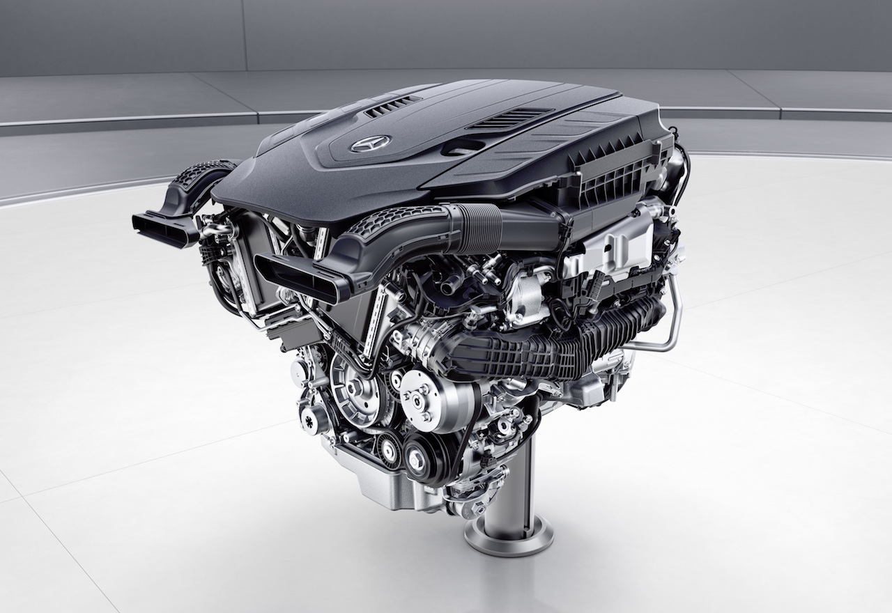 Mercedes Announces New Engine Family Inline Six Revival