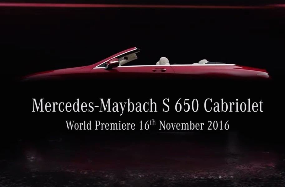 Maybach to debut new S 650 cabriolet at LA show