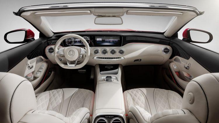 Mercedes-Maybach S 650 Cabriolet-interior