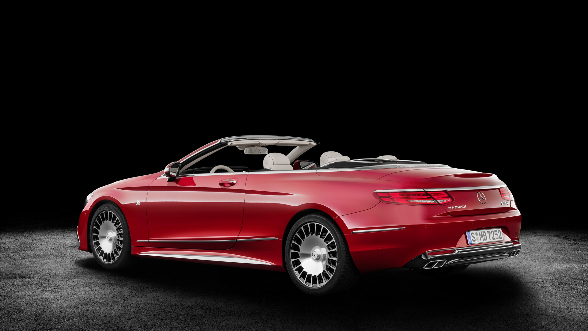 Mercedes-Maybach S 650 Cabriolet revealed, just 300 being made