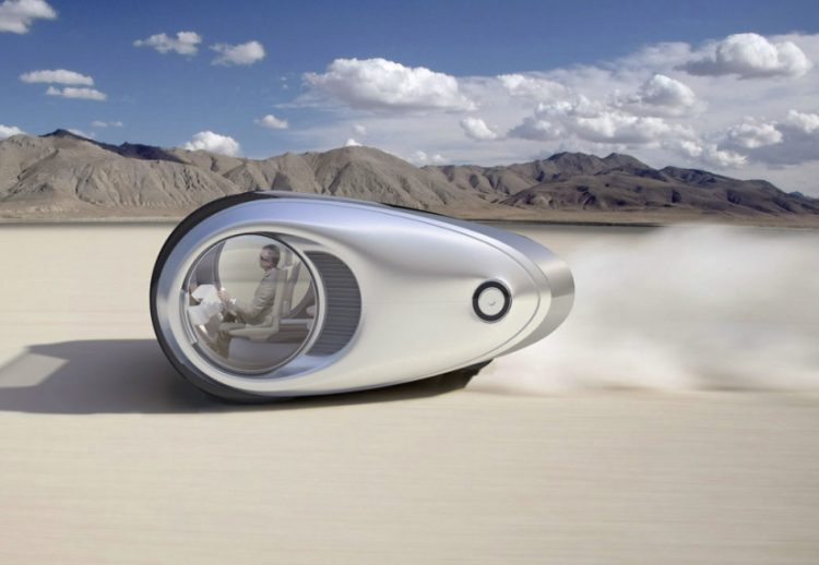 cars in the future module liveable pods