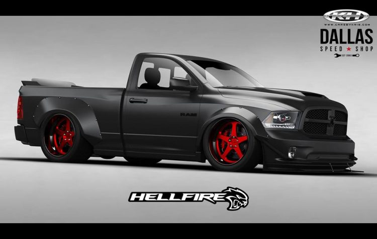 RAM 1500 Hellfire concept hits SEMA, features 527kW ...