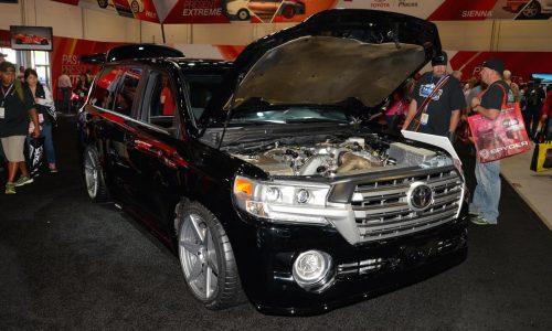 2000hp Toyota Land'Speed'Cruiser overpowers SEMA