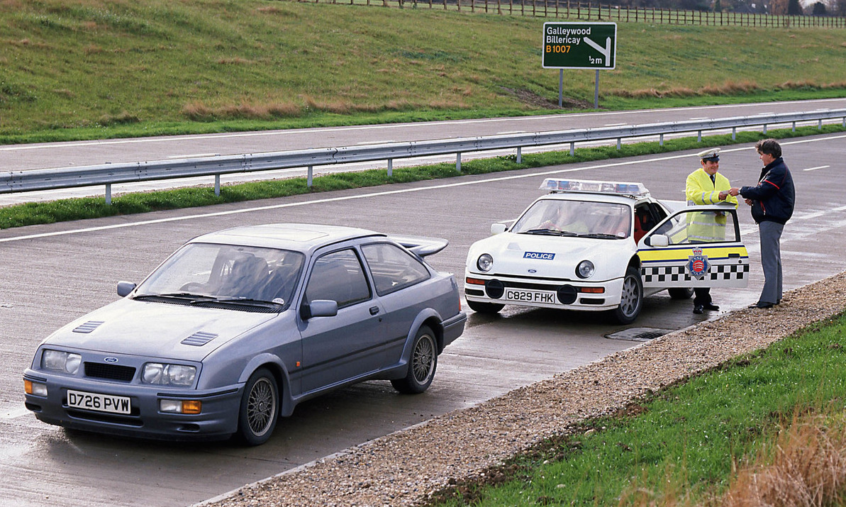 Uk Police Remember The Ford Rs200 Days Try Focus Rs