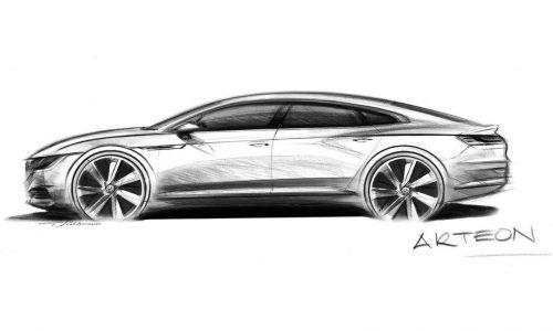 Volkswagen Arteon previewed as Passat CC successor