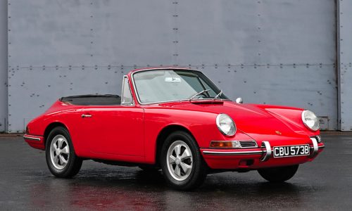 For Sale: First-ever Porsche 911 Cabriolet going up for auction