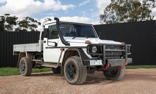 Mercedes-Benz G-Professional ute on sale in Australia from $119,900