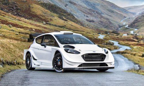 2017 Ford Fiesta WRC car revealed, looks menacing