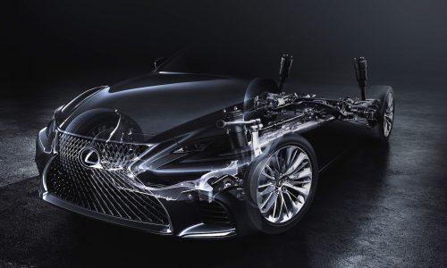 2017 Lexus LS flagship previewed before Detroit show debut