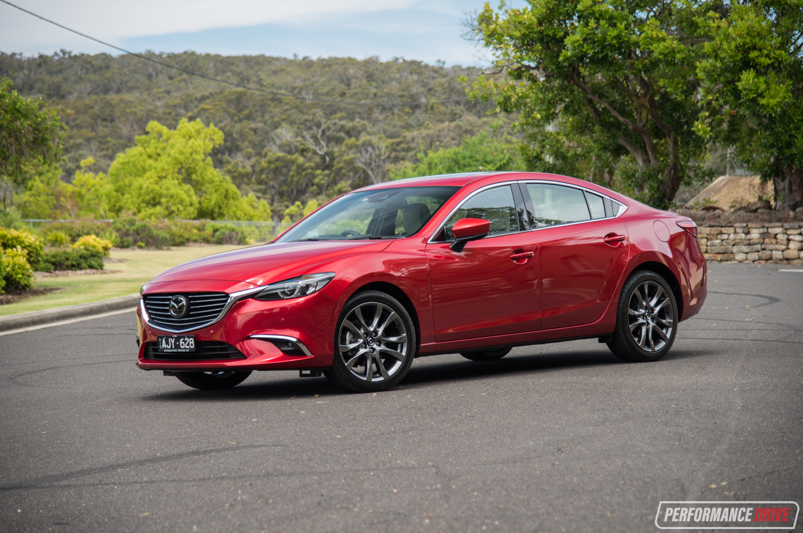 2017 Mazda6 Atenza Review Video Performancedrive