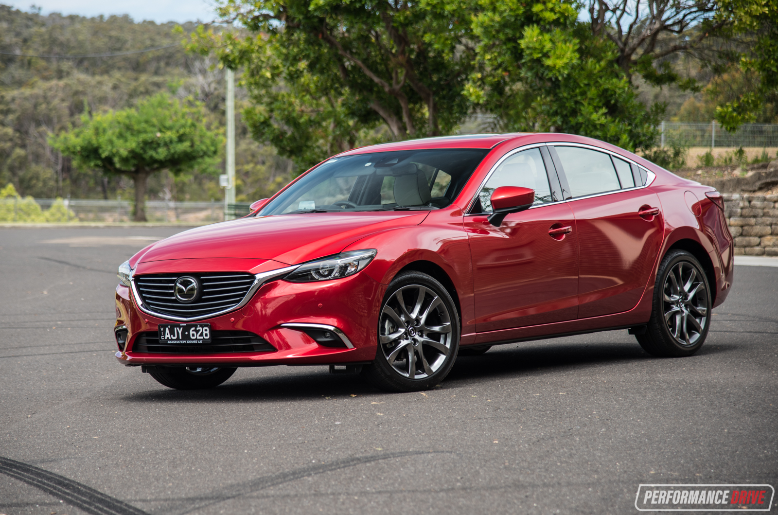 2017 Mazda6 Atenza Review Video Performancedrive