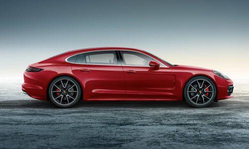 Porsche reveals Panamera Executive with Exclusive Carmine Red